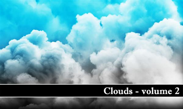 Clouds volume 2 by MiloArtDesign photoshop resource collected by psd-dude.com from deviantart