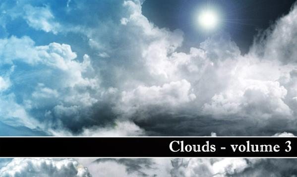Clouds volume 3 by MiloArtDesign photoshop resource collected by psd-dude.com from deviantart