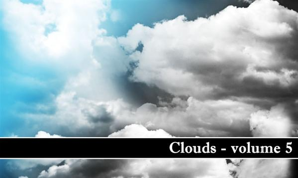 Clouds volume 5 by MiloArtDesign photoshop resource collected by psd-dude.com from deviantart