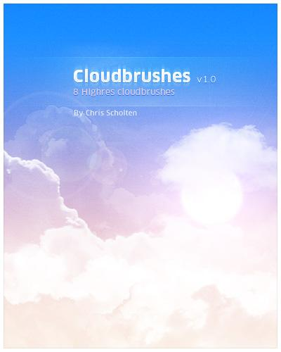 My Cloud Brushes by SaviourMachine photoshop resource collected by psd-dude.com from deviantart