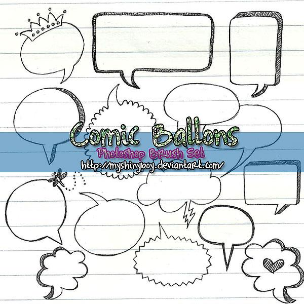 Comic Ballons BrushSet 2Brushes Pack 05 WatercolorBrushes Pack 04Brushes Pack 03 HalloweenBrushes Pack 02Brushes Pack 01 by MyShinyBoy photoshop resource collected by psd-dude.com from deviantart