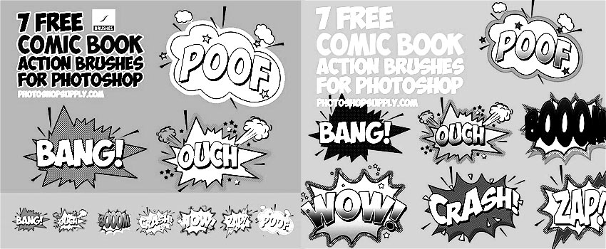 Comics Photoshop Brushes