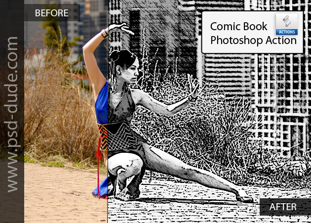 Comics Action Photoshop