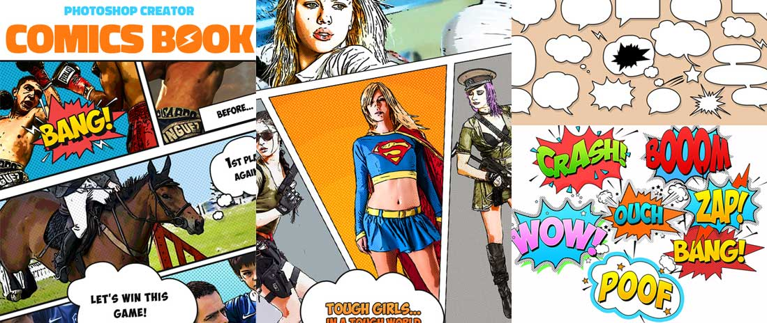 Comics Book Photoshop Action Creator