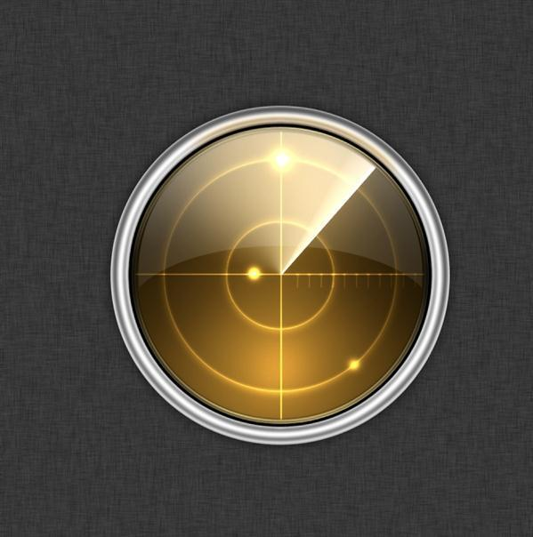Create a Radar App Icon in Photoshop