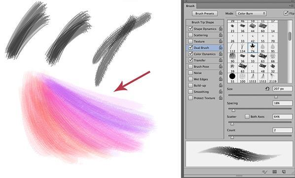 How To Create Watercolor Photoshop Brushes