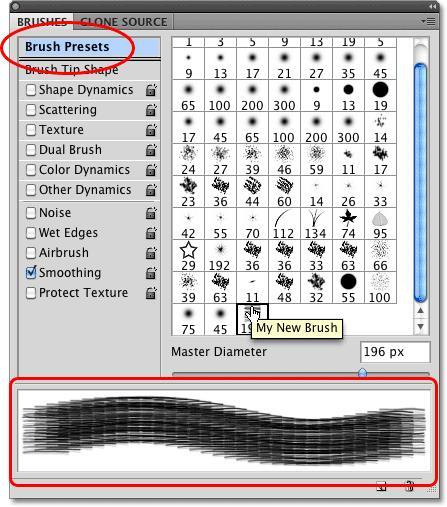 Brush Presets - How To Make Photoshop Brushes