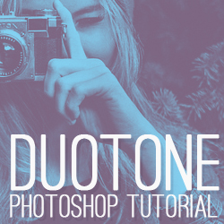 How to Make Duotone in Photoshop Tutorials for Beginners psd-dude.com Resources