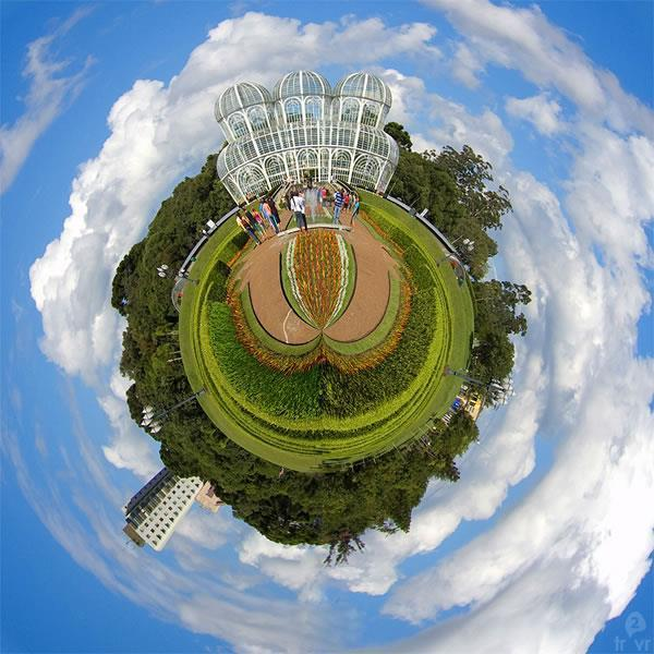 Make Little Planets in Photoshop