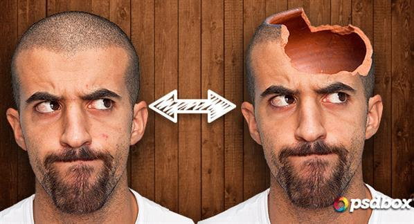 Create a Hollow Head in Photoshop