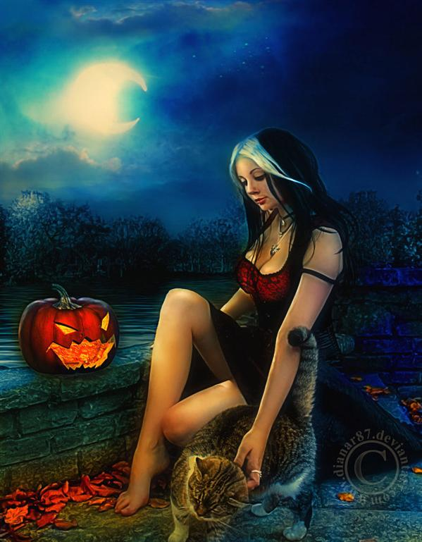 All Hallows Eve by dianar87 photoshop resource collected by psd-dude.com from deviantart