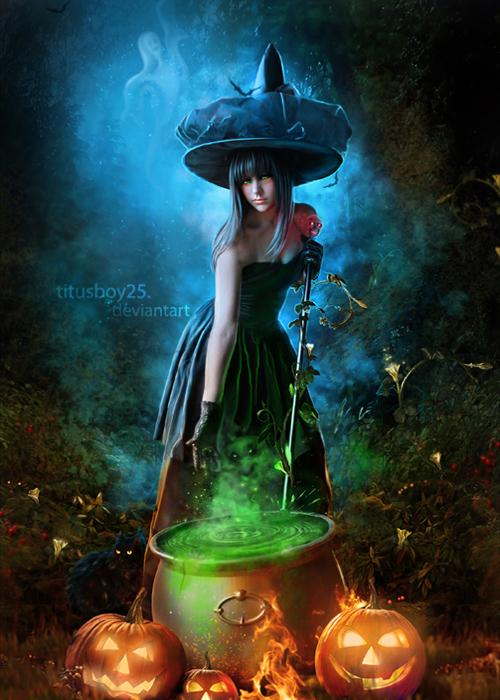 Halloween by titusboy25 photoshop resource collected by psd-dude.com from deviantart