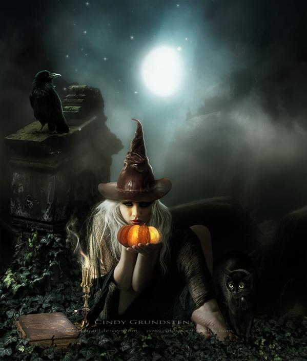 Halloween by Dezzan photoshop resource collected by psd-dude.com from deviantart