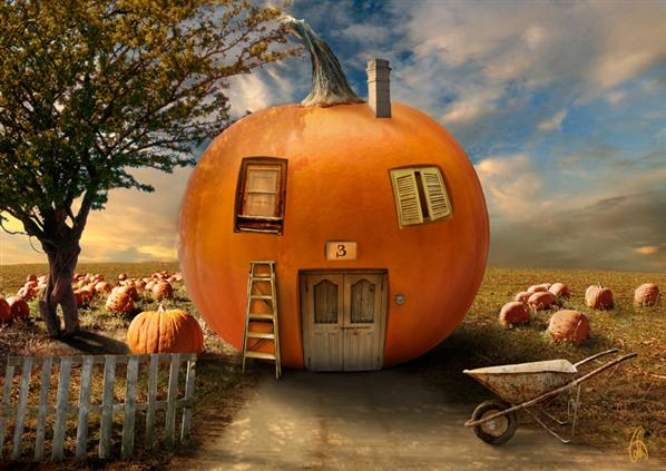 Pumpkin garden by cristalart photoshop resource collected by psd-dude.com from deviantart