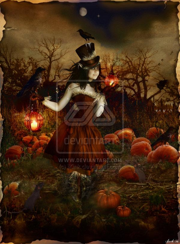 Pumpkin Patch Annie cutout by iKink photoshop resource collected by psd-dude.com from deviantart