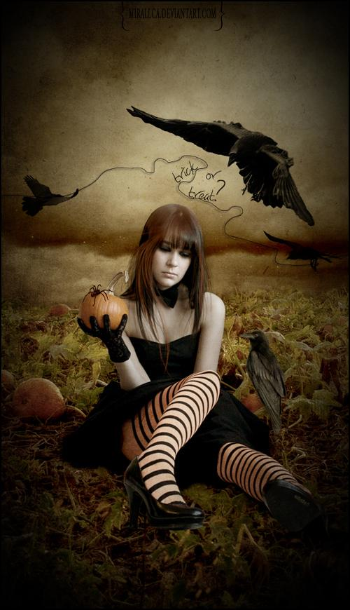 Trick Or Treat by mirallca photoshop resource collected by psd-dude.com from deviantart