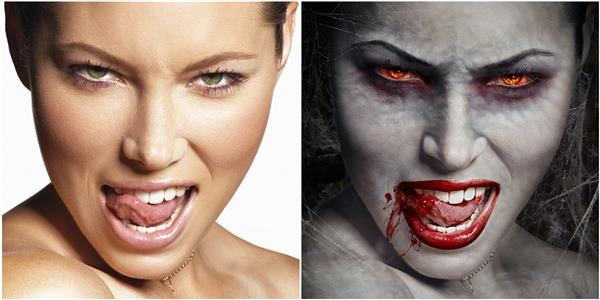 Create a Bloody Vampire in Photoshop