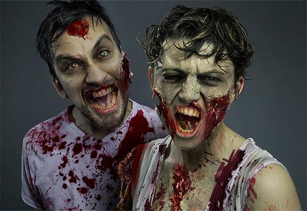 Create zombie in Photoshop