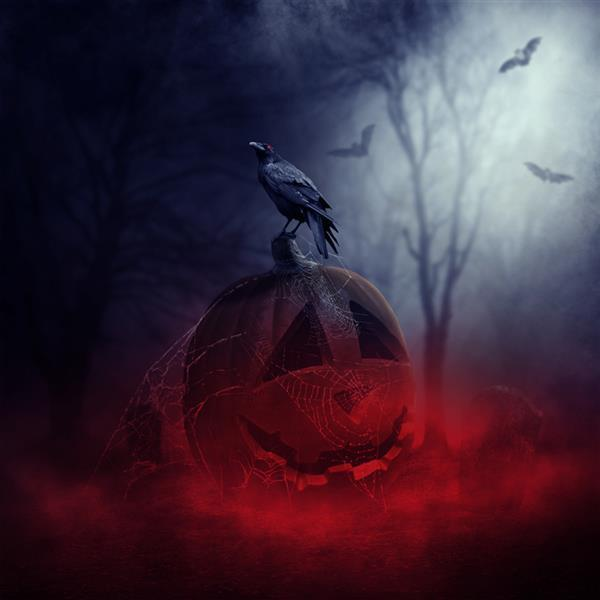 Halloween Horror Pumpkin Photo Manipulation Tutorial