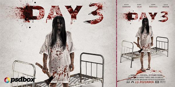 Horror Movie Poster Flyer Photoshop Tutorial