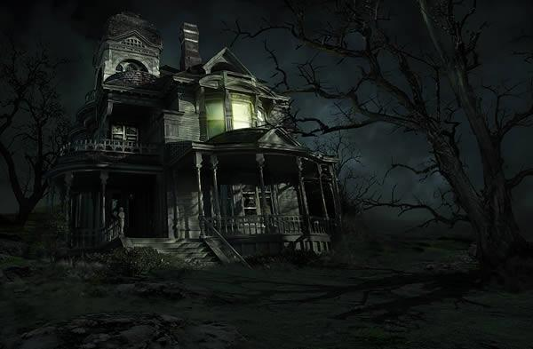Sinister Haunted House Adobe Photoshop Tutorial