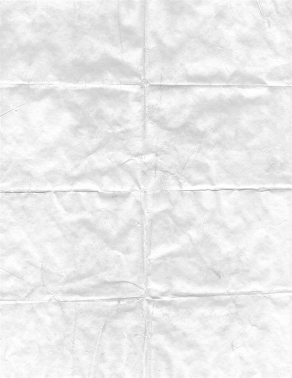 Wrinkled Folded Page Background