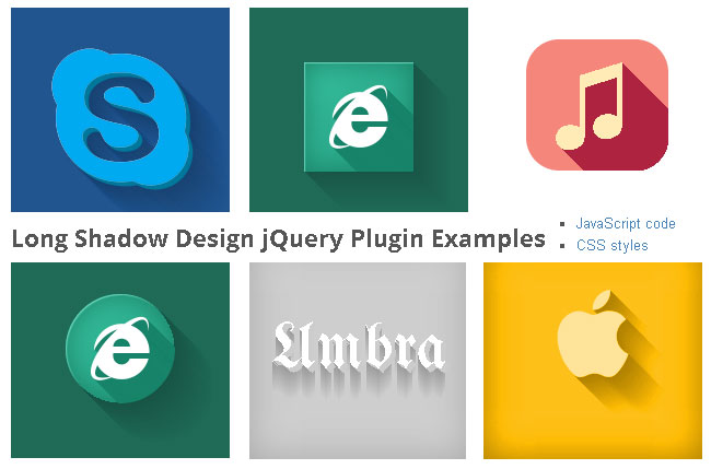 Long Shadow jQuery Plugin - 1