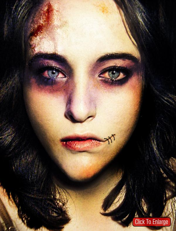 Scary zombie photo effect Photoshop Tutorial by designzzz