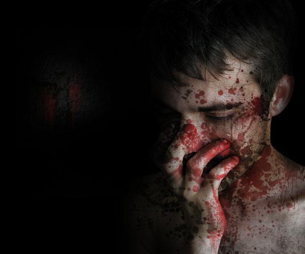 Turn yourself into a Zombie Photoshop Tutorial by fanextra