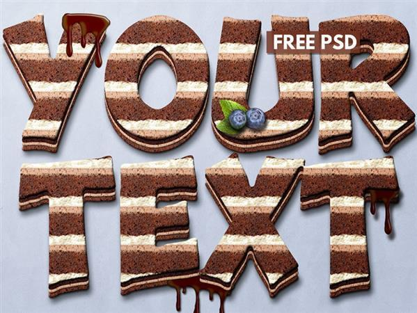 Cake Text Style (FREE)