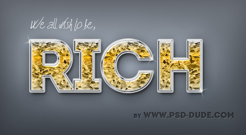 Free Diamond Text Effect