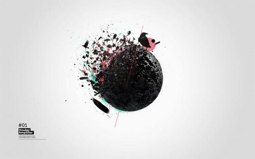 Conceptual disintegration effect in cinema 4d and photoshop