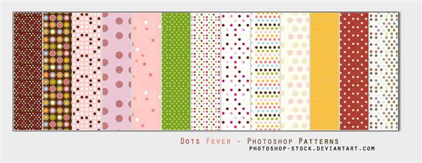 Dots Fever Ps Patterns by photoshop-stock photoshop resource collected by psd-dude.com from deviantart