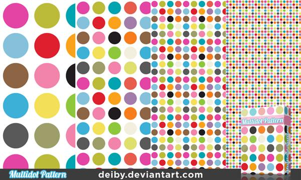 Multidot Pattern by deiby photoshop resource collected by psd-dude.com from deviantart