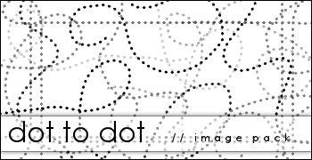 Dot to Dot Image Pack by Raine-Rose photoshop resource collected by psd-dude.com from deviantart