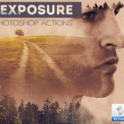 Double Exposure Photo Effect Photoshop Tutorials psd-dude.com Resources