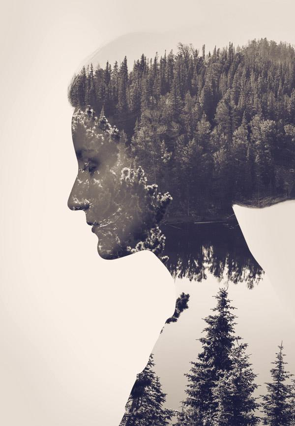 Create Double Exposure Effect in Photoshop