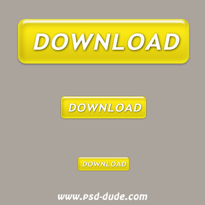 Gold Download Button by psd-dude photoshop resource
