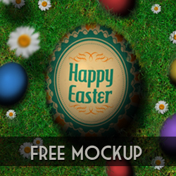 <span class='searchHighlight'>Easter</span> Egg Hunt Free Mockup psd-dude.com Resources