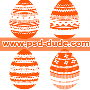 Egg Shapes for <span class='searchHighlight'>Easter</span> | PSDDude psd-dude.com Resources