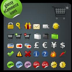 Ecommerce Icons for Your Business psd-dude.com Resources