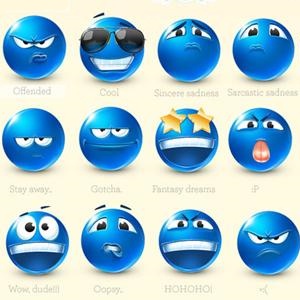 500 Chat Emoticons Free Download psd-dude.com Resources