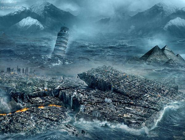 End of the world Photo Manipulations