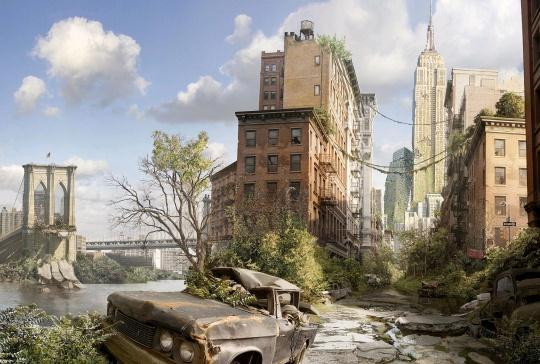 Post Apocalyptic Photo Manipulations