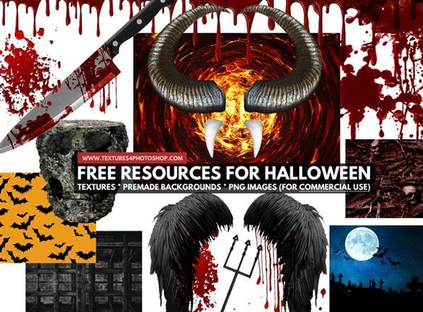20 Free Resources Images for Halloween