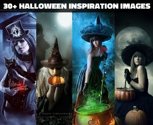 Creepy halloween photoshop manipulations Collection