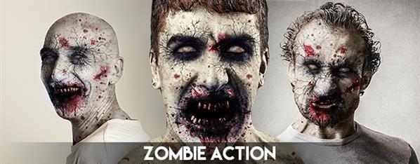 Hungry Zombie Photoshop Action