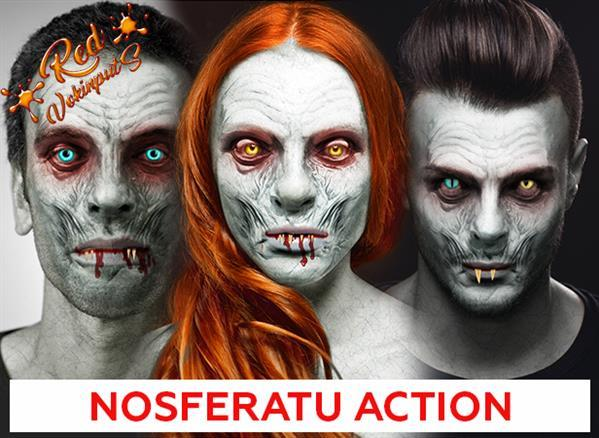 Nosferatu Portrait Effect Photoshop Action