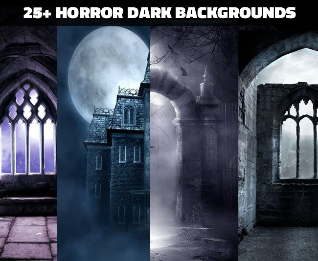 Over 25 Horror dark gothic backgrounds for photoshop manipulations