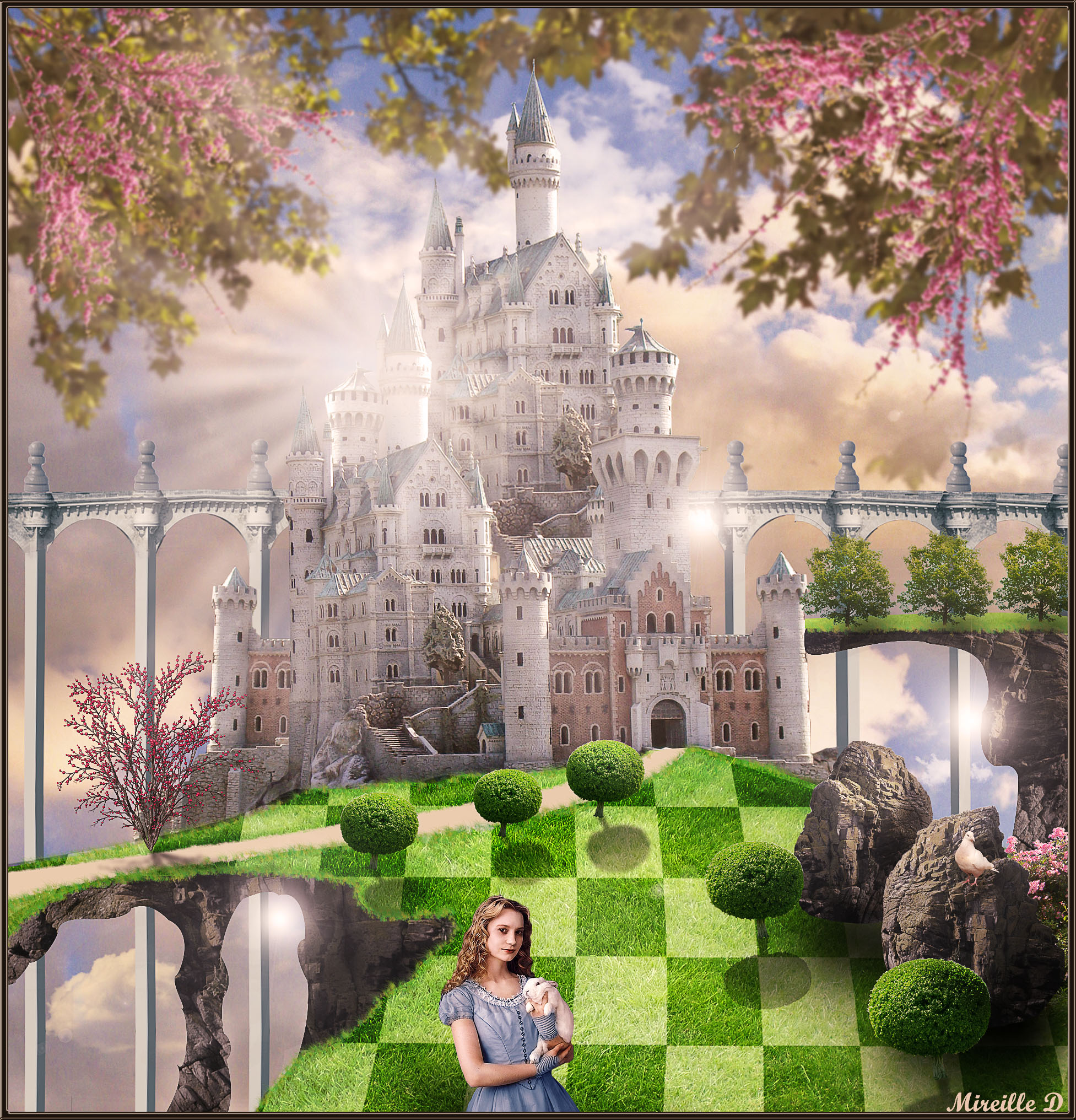 Create a Fantasy Castle in Photoshop Inspired by The Movie